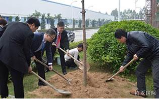3.12植树节,我们在行动——记柏亚集团2014.3.12植树节活动