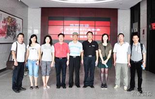 广东省物流行业协会马秘书长一行到汕头考察