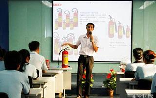 消防知识讲座敲响警钟 消防演练强化防范意识